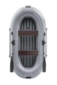 Лодка ПВХ Пиранья 2Д НД надувная гребная