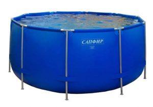Каркасный бассейн для дачи (аналог Bestway) 4,57м х 1,22м