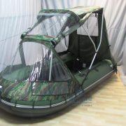 Фото тента-комби на лодку Ривьера 3800 НДНД