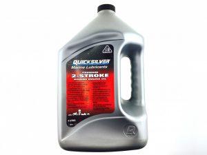 Фото Масло 2-х тактное Quicksilver Premium TC-W3 (4л)